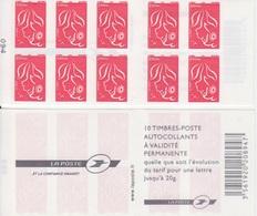 Marianne De Lamouche, N° 3744-C8 X 2 (La Poste, Et La Confiance Grandit), Neuf ** - Carnets
