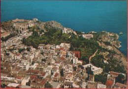 Taormina. La Città Dal Castello Dei Normanni. Non Viaggiata. Originale - Italia