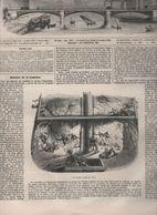 L'ILLUSTRATION 23 11 1850 - BREST INCENDIE VAISSEAU VALMY - MADRID - ACTRICE JENNY LIND - BAYERN OBERAMMERGAU - THEATRE - Newspapers