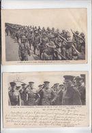 Lot De 2 CP / Franchise Militaire / Guerre 14/18 / Correspondance Armée Américaine / Voir état - Post