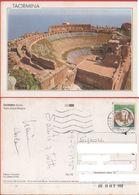 Taormina. Teatro Greco-Romano. Viaggiata 1996 - Italia