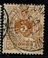 28  Obl  Charleroi (Ville Haute)  + 4 - 1869-1883 Leopold II