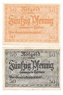 **notgeld Trittau Serie Compleet 1347.1  Catalog Val 4,00 Euro - [11] Local Banknote Issues
