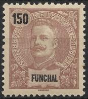 Funchal – 1897 King Carlos 150 Réis - Funchal