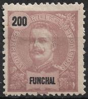 Funchal – 1897 King Carlos 200 Réis - Funchal