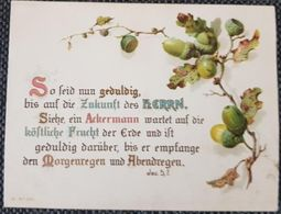 Old Card With Text From Bible - Postcards