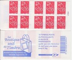 Marianne De Lamouche, N° 3744A-C1 X 2 (la Boutique Web Du Timbre), Neuf ** - Carnets