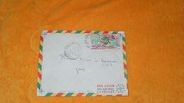 ENVELOPPE DE 1969../ CACHETS FORT LAMY TCHAD POUR PARIS..+ TIMBRE - Tchad (1960-...)