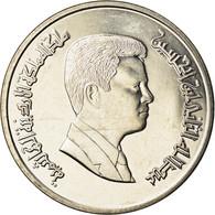 Monnaie, Jordan, Abdullah II, 5 Piastres, 2006/AH1427, SPL, Nickel Plated Steel - Jordanie