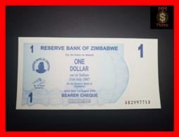 ZIMBABWE 1 $ 1.8.2006  P. 37   UNC - Zimbabwe
