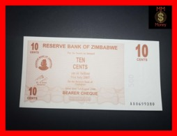 ZIMBABWE 10 Cents  1.8.2006  P. 35  UNC - Zimbabwe