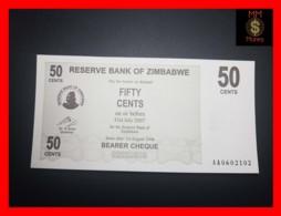 ZIMBABWE 50 Cents  1.8.2006  P. 36   UNC - Zimbabwe