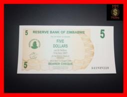 ZIMBABWE 5 $ 1.8.2006  P. 38  UNC - Zimbabwe