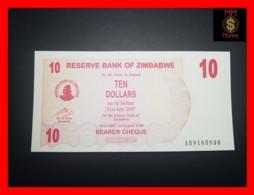 ZIMBABWE 10 $ 1.8.2006  P. 39  UNC - Zimbabwe