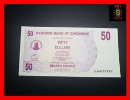 ZIMBABWE 50 $ 1.8.2006  P. 41   UNC - Zimbabwe