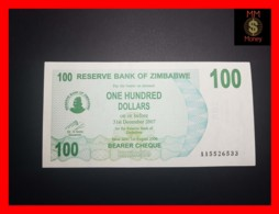 ZIMBABWE 100 $ 1.8.2006  P. 42  UNC - Zimbabwe