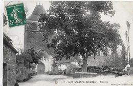 Les Quatres Routes. L'arrivée En Cariole à L'église. - Frankreich