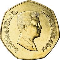 Monnaie, Jordan, Abdullah II, 1/4 Dinar, 2004, SPL, Nickel-brass, KM:83 - Jordanie