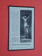 Marie Vandenberghe - Standaert Geboren Te Somergem 1845 En Overleden Te Meerendree  1926       (2scans) - Religion &  Esoterik
