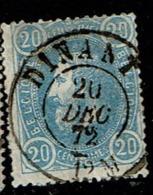 31  Obl Dc Dinant  + 2 - 1869-1883 Leopold II