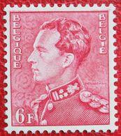 6Fr LEOPOLD III 1951 OBP 848 (Mi 901 B) POSTFRIS /MNH ** BELGIE BELGIUM - Unused Stamps