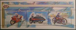 Comores 1999, Motorbike, 3val In BF - Comoros