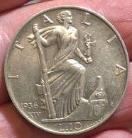 Vitt. Em III° Re D'italia 1900-1943 10 Lire 1936 Impero D.649 - 1900-1946 : Victor Emmanuel III & Umberto II