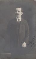 Photographie - Carte-photo - Portrait Homme - Calligraphie Grecque - 1912 - Photographie