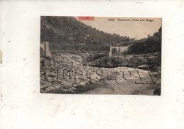 Locarno Ou Lucarne (Suisse, Tessin) : Ponte Sulla Maggia Ponte-brolla En 1909 PF. - TI Tessin