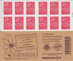 Marianne De Lamouche, N° 3744A-C7 X 2 (Réservations, Timbres Plus), Neuf ** - Carnets