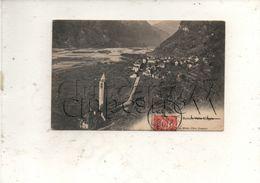 Maggia (Suisse, Tessin) : Vue Panoramique Sur Soméo En 1909 PF. - TI Tessin