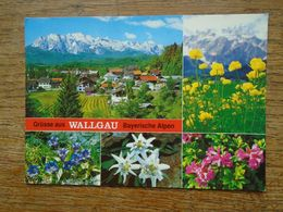 """Allemagne , Wallgau/oberbayern , Grüsse Aus Wallgau Bayerische Alpen """""""" Beau Timbre """""""" - Duitsland"""