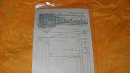 FACTURE ANCIENNE + ORDRE DE RECU...DE 1915.../  GERMAIN BRUNEL JEUNE MANUFACTURE DE CHAUSSURES.. - France