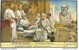 6 Chromos - Liebig - La Vie De Socrate - S 1484 - Liebig