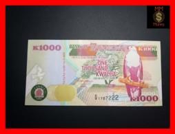 ZAMBIA 1.000  1000 Kwacha  1992  P. 40 A   XF \ AU - Zambia