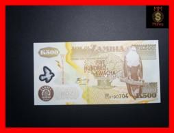 ZAMBIA 500 Kwacha  2004  P. 43 C  Polymer  UNC - Zambia