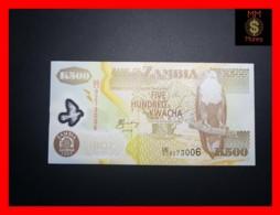 ZAMBIA 500 Kwacha  2005  P. 43 D  Polymer  UNC - Zambia