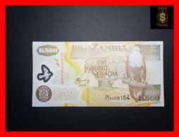 ZAMBIA 500 Kwacha  2006  P. 43 E  Polymer   UNC - Zambia