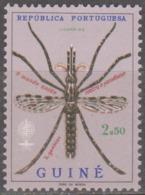 GUINÉ- 1962, Erradicação Do Paludismo, 2$50,  D. 13 1/2 ** MNH  Afinsa  Nº 295 - Portuguese Guinea