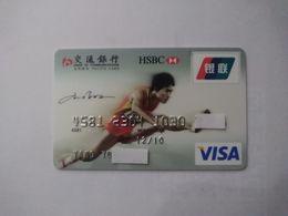 China, Sport, Hurdle Race, Star, Liu Xiang , (1pcs) - Carte Di Credito (scadenza Min. 10 Anni)