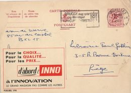 Publibel 1795 - Innovation Grand Magasin - Bruxelles - Liège - 15 Mars 1967. - Publibels