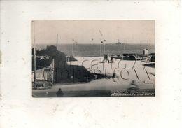 Hermanville-sur-Mer (14) : Vue Générale Sur Le Monument Du Débarquement Et Reste De Bateaux En 1948 (animé) PF. - France