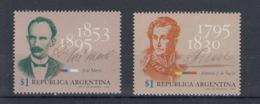 Argentinien Michel Cat.No. Mnh/** 2249/2250 - Unused Stamps