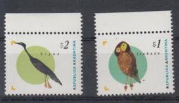 Argentinien Michel Cat.No. Mnh/** 2266/2267 Birds - Unused Stamps