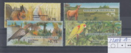 Argentinien Michel Cat.No. Mnh/** 2311/2314 Birds - Unused Stamps