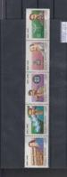 Argentinien Michel Cat.No. Mnh/** 2100/2104 Strip - Unused Stamps