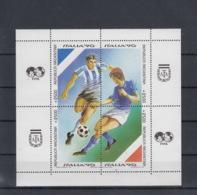 Argentinien Michel Cat.No. Mnh/** Sheet 40 Soccer - Blocks & Sheetlets