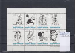 Argentinien Michel Cat.No. Mnh/** Sheet 2084/2091 - Blocks & Sheetlets