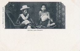 Siamese Types Bangkok No 5 J. Antonio . Undivided Back - Thaïlande