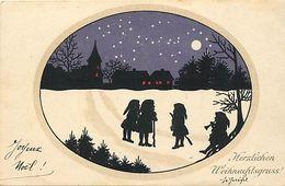 Themes Div-ref EE949 -illustrateurs -illustrateur - Carte Allemande - Allemagne - Lutin - Les Petits Lutins - - Illustrateurs & Photographes